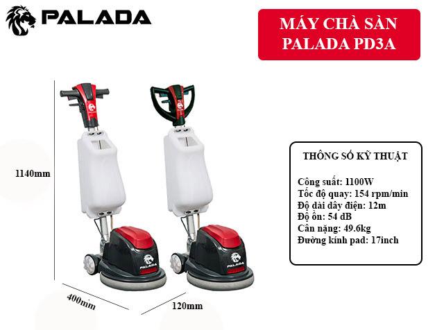 Palada PD3A - Thiết kế đơn giản, tiện dụng