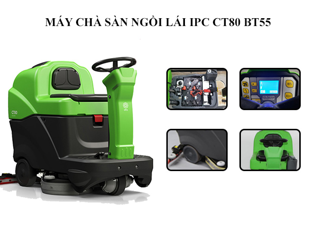 IPC CT80 BT55 - Thiết kế sang trọng, nhiều tính năng hiện đại