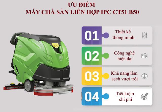IPC CT51 B50 luôn được đánh giá cao bởi hàng loạt ưu điểm nổi trội