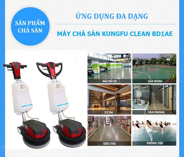 Kungfu CLean BD1AE - Khả năng làm sạch ấn tượng