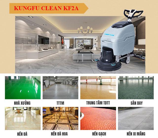 Kungfu Clean KF2A có tính ứng dụng cao