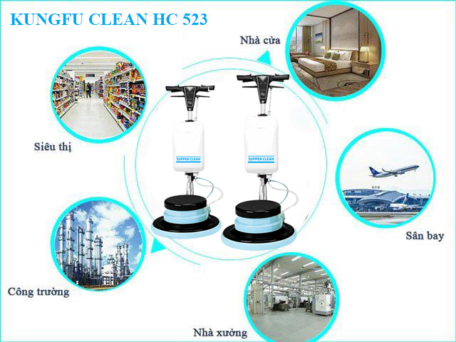 Kungfu Clean HC523 được ứng dụng rất nhiều trong đời sống