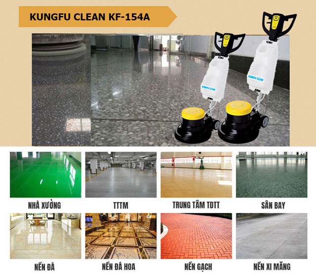 Kungfu Clean KF-154 có tính ứng dụng cao