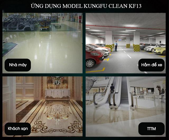 Ứng dụng model Kungfu Clean KF13