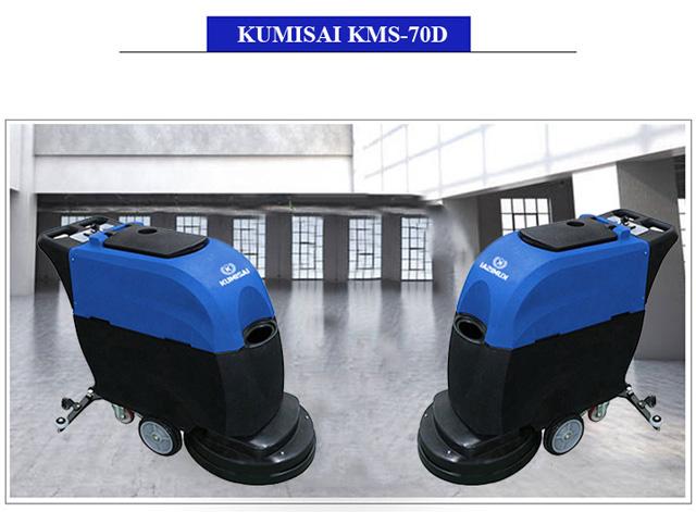 Kumisai KMS-70D có khả năng làm sạch 1750m2 chỉ trong 1 giờ