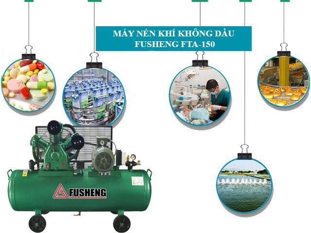 Fusheng FTA-150 được ứng dụng trong nhiều lĩnh vực khác nhau