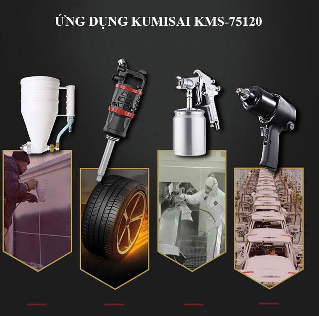 Kumisai KMS-75120 được ứng dụng trong nhiều lĩnh vực sản xuất và đời sống