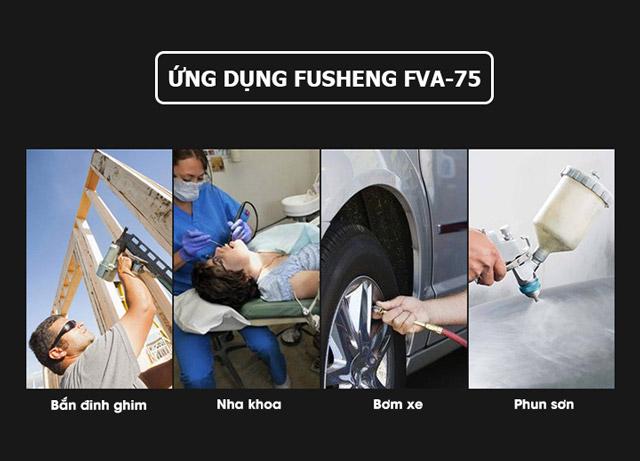 Fusheng FVA-75 rất được ưa chuộng trong ngành y tế, thực phẩm