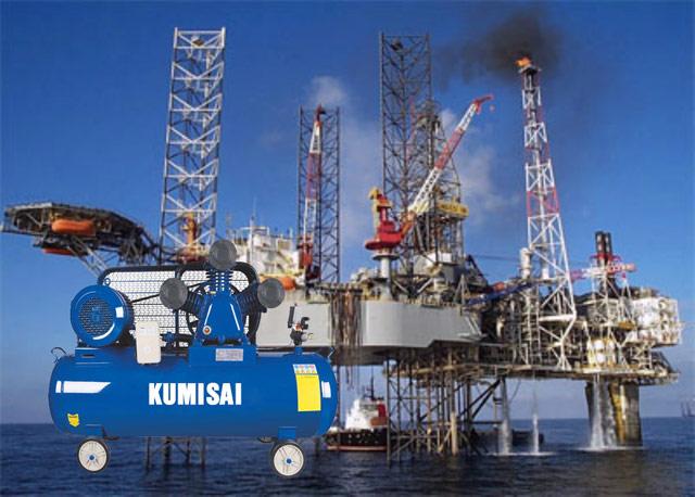 Ứng dụng máy nén hơi Kumisai trong các hoạt động công nghiệp