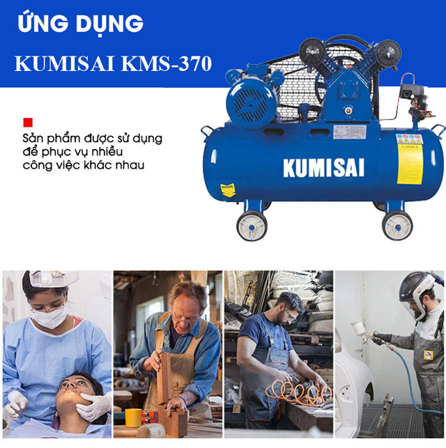 Kumisai KMS-370 được ứng dụng trong rất nhiều lĩnh vực
