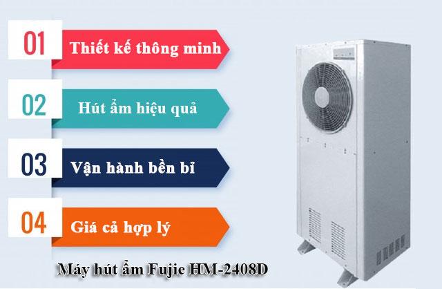 Ưu điểm của máy hút độ ẩm Fujie HM-240EB