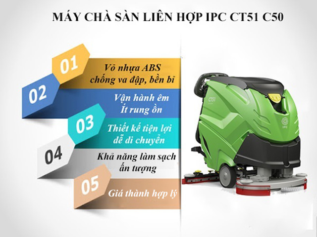 Tính năng nổi bật của IPC CT51 C50