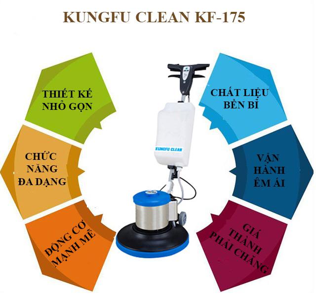 Kungfu Clean Kf-175 - Thiết kế hiện đại, chất lượng vượt trội