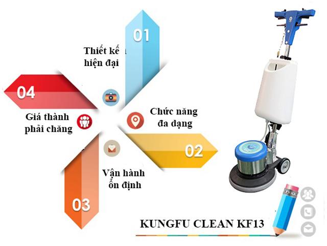 Tính năng nổi trội của model chà sàn Kungfu Clean KF13