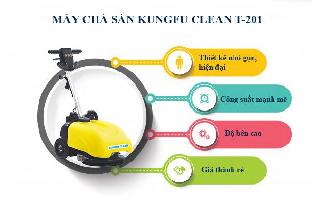 Kungfu Clean T201 được người dùng đánh giá cao về tính năng và thiết kế