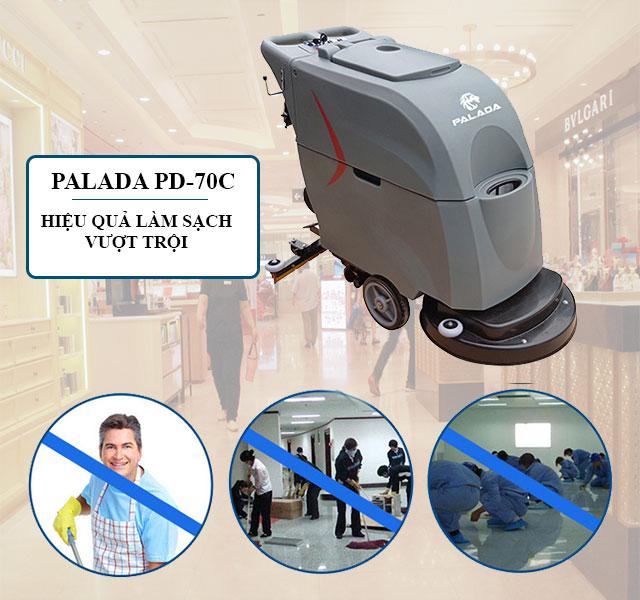 Palada PD70C - Khả năng làm sạch ấn tượng