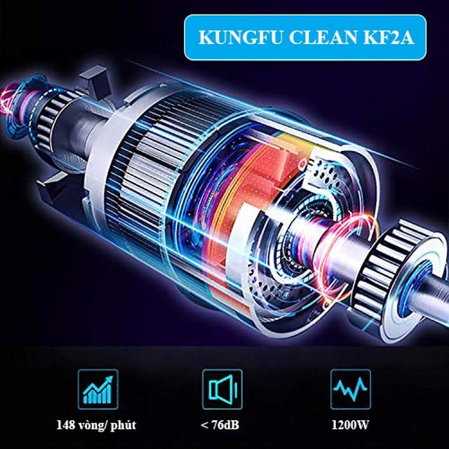 Kungfu Clean KF2A sở hữu động cơ mạnh mẽ, bền bỉ