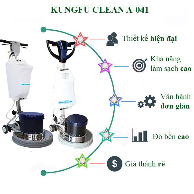 Tính năng nổi trội của model chà sàn Kungfu Clean A-041