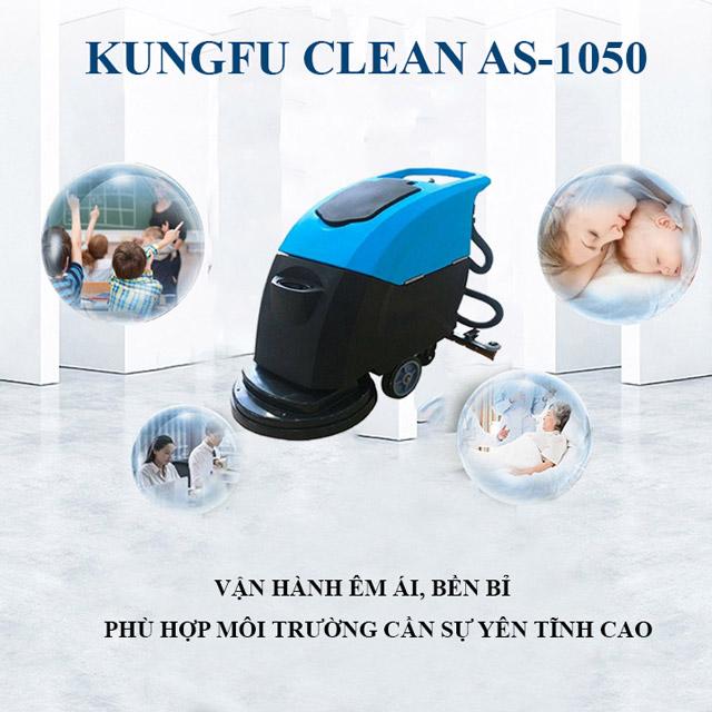 Kungfu Clean AS-1050 - vận hành êm ái, bền bỉ