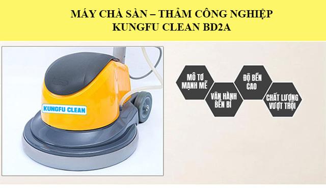 Kungfu Clean BD2A - Chất lượng cao, vận hành bền bỉ