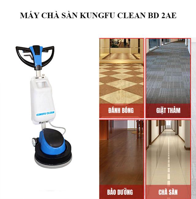 Kungfu Clean BD2AE - tính ứng dụng cao, đáp ứng mọi nhu cầu sử dụng