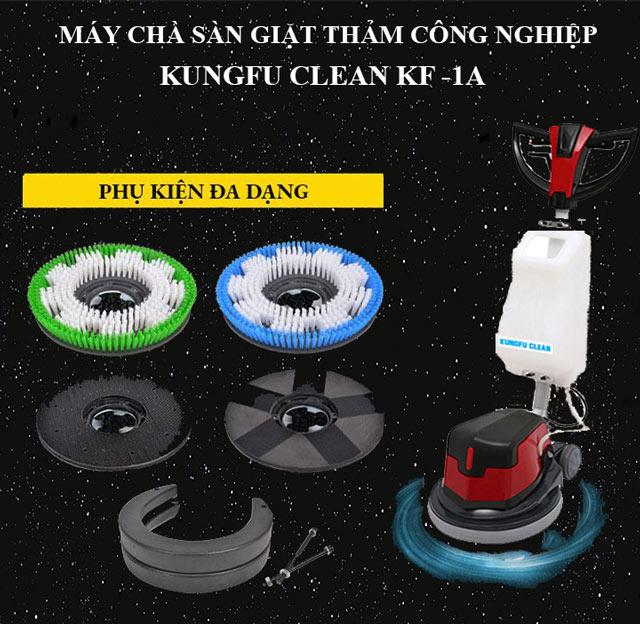 Kungfu Clean KF-1A - Công suất mạnh mẽ, vận hành êm ái