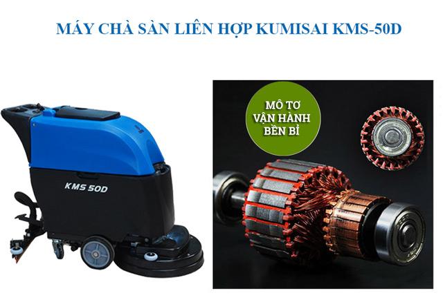 Ưu điểm thiết bị chà sàn liên hợp Kumisai KMS-50D
