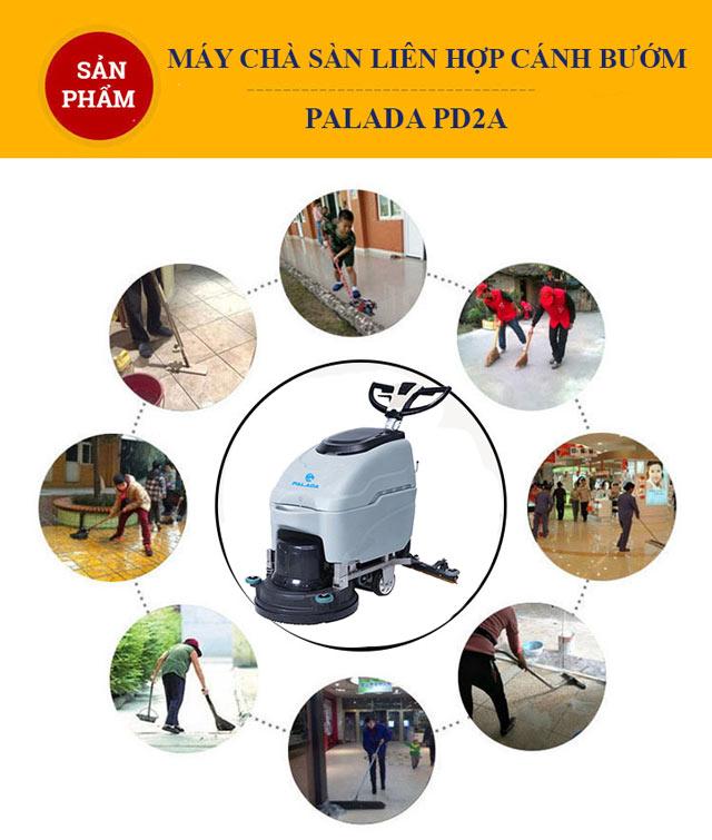 Palada PD2a giúp công việc vệ sinh trở nên đơn giản hơn rất nhiều