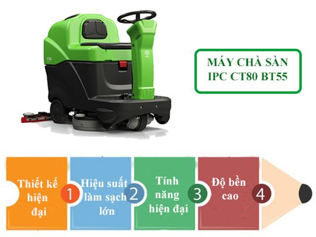 IPC CT80 BT55 được nhiều người ưa chuộng bởi nhiều tính năng nổi trội