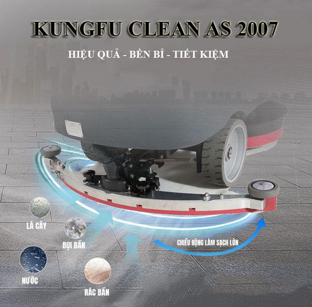 Kungfu Clean AS 2007 - Khả năng làm sạch ấn tượng