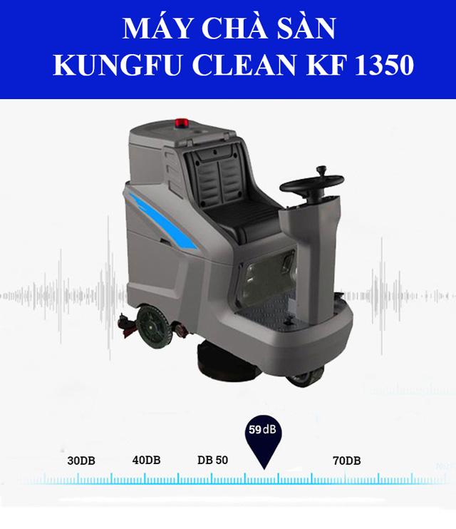 Kungfu Clean KF-1350 - Độ ồn thấp, vận hành êm ái