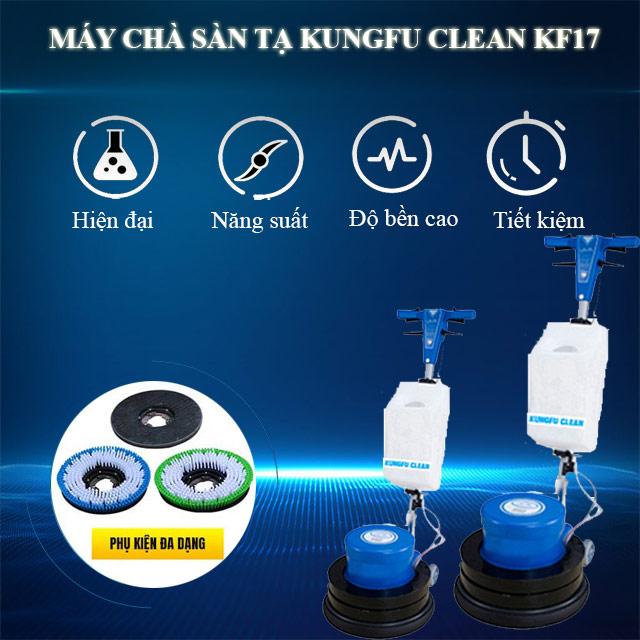 Kungfu Clean KF-17 sở hữu nhiều ưu điểm và tính năng nổi trội