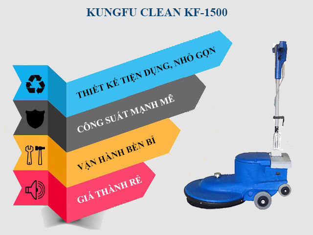 Ưu điểm nổi bật của model Kungfu Clean KF-1500