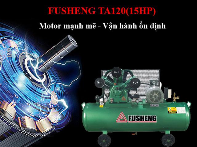 Fusheng TA120- Motor mạnh mẽ, vận hành bền bỉ