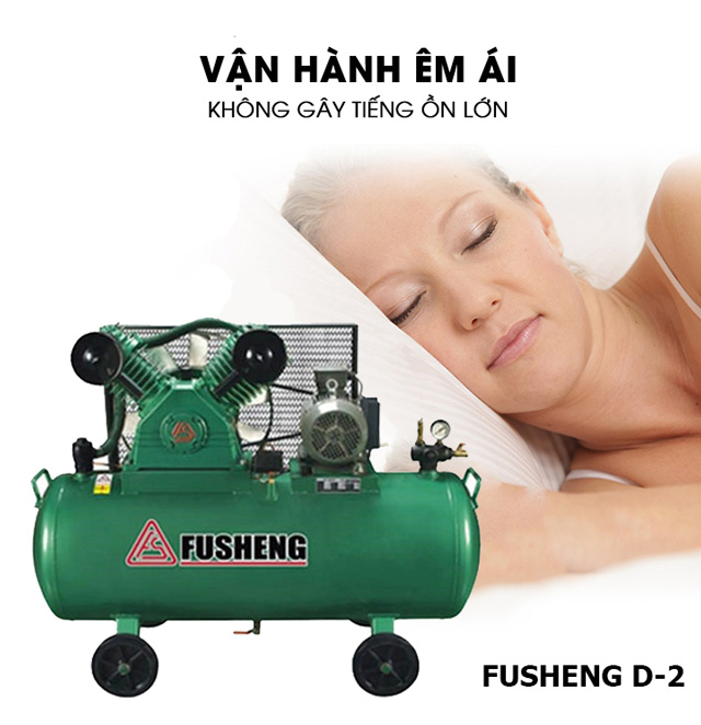 Ưu điểm máy nén hơi Fusheng D2