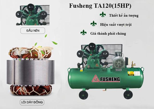 Model Fusheng TA120- 15HP có điểm gì nổi trội?