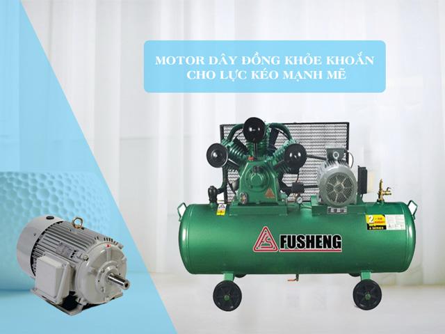 Fusheng TA65 sử dụng motor quấn 100% bằng dây đồng