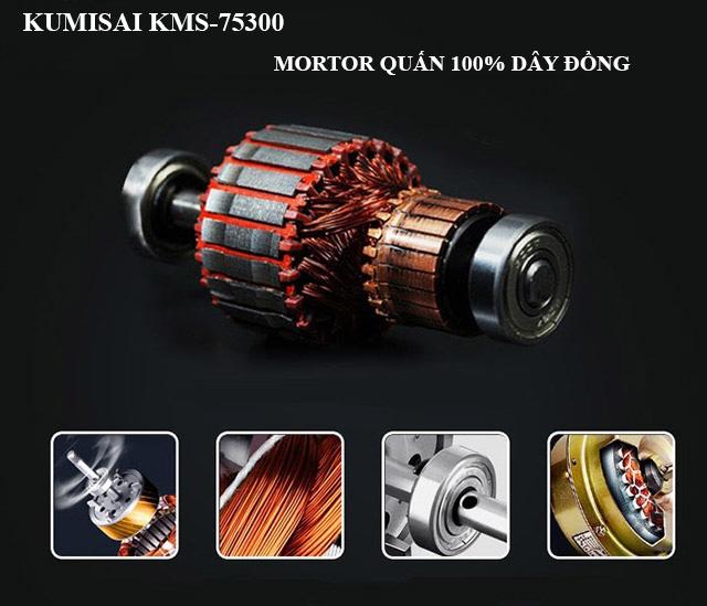 Kumisai KMS-75300 - Động cơ bền bỉ, mạnh mẽ