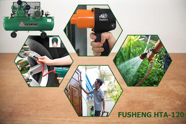 Fusheng HTA-120 có công suất mạnh mẽ, tính ứng dụng cao