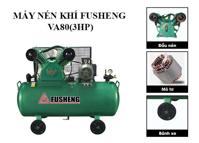 Fusheng VA80(3HP) - Thiết kế hiện đại, động cơ mạnh mẽ