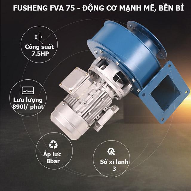 Fusheng FVA-75 - Động cơ mạnh mẽ, bền bỉ