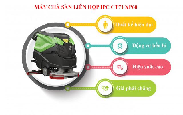 IPC CT71 XP60 - Thiết kế ấn tượng, công suất mạnh mẽ