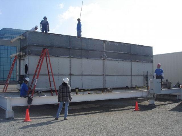 Cách lắp đặt tháp giải nhiệt Kumisai