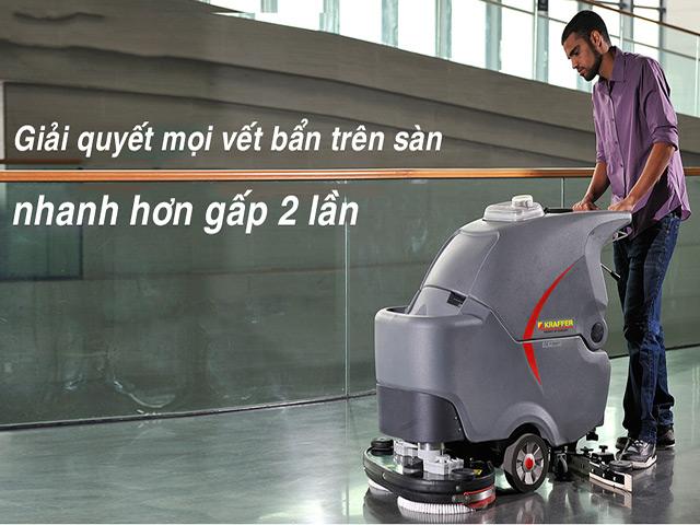 Cách sử dụng máy chà sàn như thế nào?
