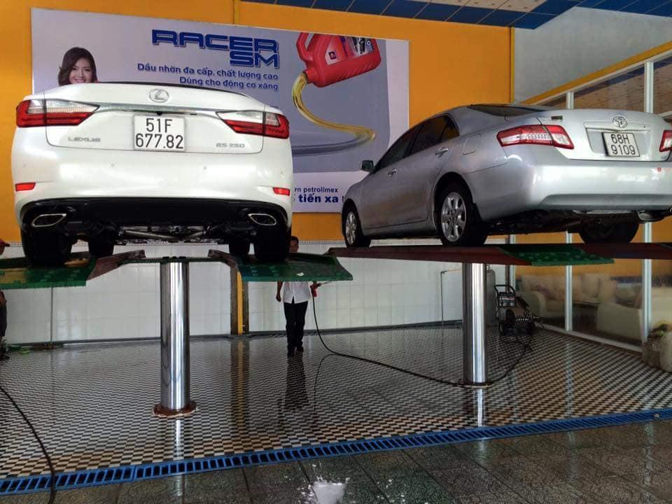 Các loại cầu nâng ô tô