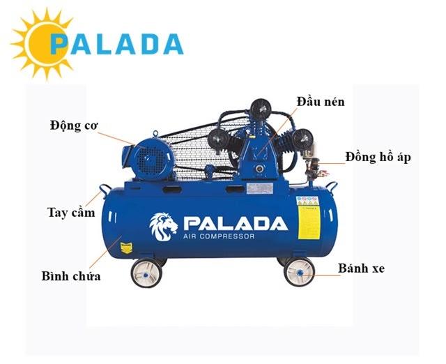 máy nén khí Palada