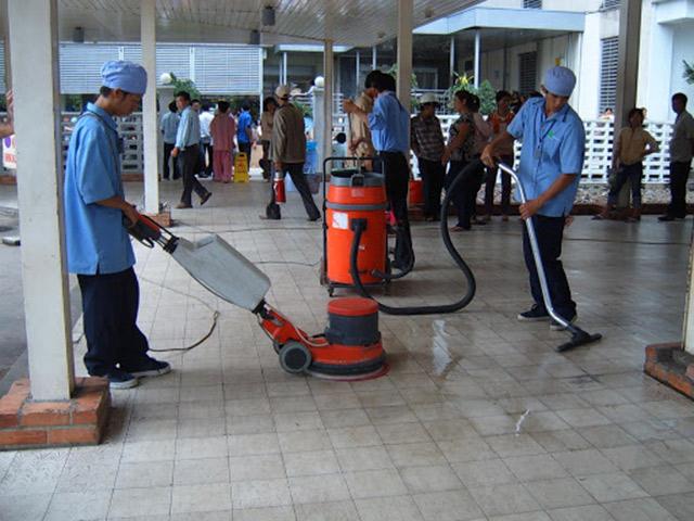 Quy trình sử dụng máy chà sàn đơn giản nhất