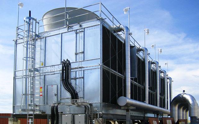 lắp đặt tháp giải nhiệt Truwater