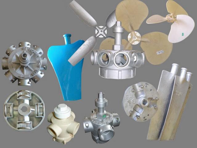 Những linh kiện và phụ kiện của tháp giải nhiệt công nghiệp