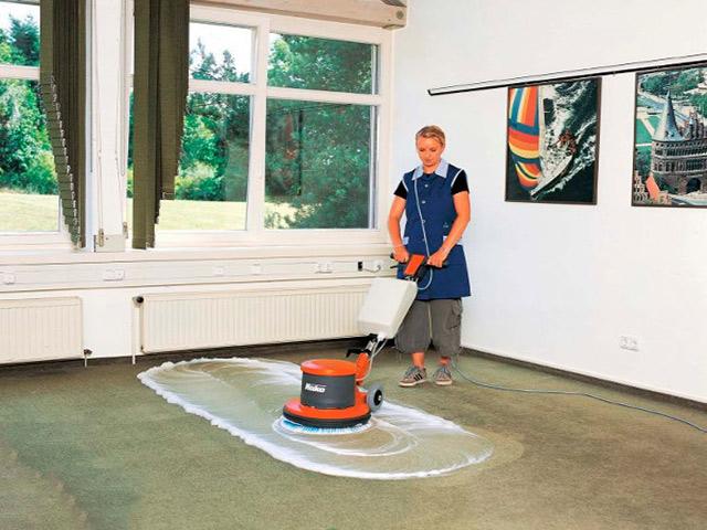 Cấu tạo và nguyên lý hoạt động của thiết bị chà sàn đơn